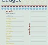 Budget & Saving Money