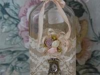 Altered and Embellished Bottle Art