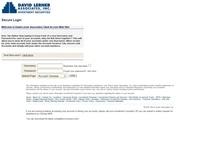 David Lerner Associates login