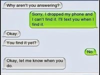 Funny, sweet, cruel & failed text messages