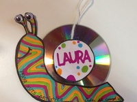 Basteln mit cd on pinterest old cds con cd and recycled for Cd basteln