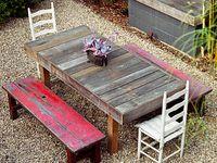 Pallets & Crafty Wood Ideas