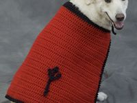 crochet and knit patterns for pets
