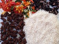 Homemade dehydrated meals for camping, canoeing, backpacking, or prepping.