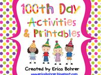 The 100th Day of School Board