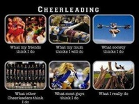 CHEER IS MY LIFE!! <3