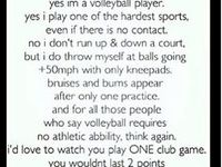 Volleyball = life!!!!!!