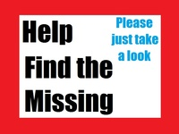 Missing ~Help bring them home.