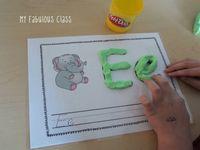 Alphabet crafts and activities