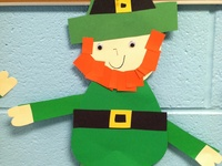 education ideas for the month of March - Dr. Seuss, St. Patrick's Day, etc