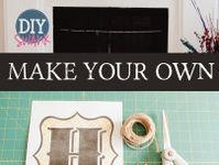 Crafts! DIY!