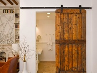 My new obsession: BARN DOORS. waaaaant!  (Disclaimer: I do not own any of the images pinned onto this 'board'. Click on each photo to see the site where it was pinned from)