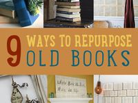 reuse old books