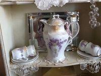 beautiful vintage china, glass, silver, etc.....