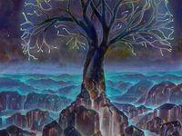 Mosaic Trees & Tree Art
