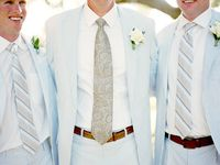 Bow tie, boutonniere, and menswear inspiration for our Southern grooms and groomsmen