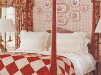 quilts in interiors