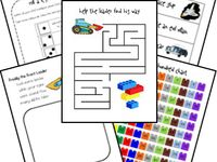 Homeschool: Learning with Legos!