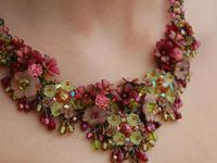 BEADED FLORAL