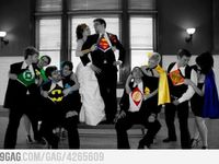 All batman-esque things related to having a fabulous superhero wedding!