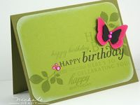 Card Making and Stamping Ideas