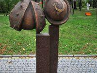 sculpture, steampunk, monuments, accessory, clock