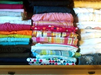 organizing linen closets, organizing master closets, organizing front hall closets and organizing storage closets.