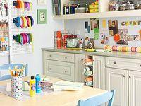 craft rooms and craft organization