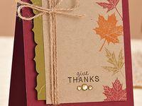 Cards - Fall, Halloween & Thanksgiving