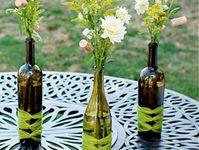 Crafts~Wine Bottles