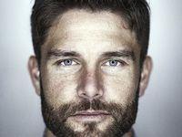 Beautiful men with beards. Woof!