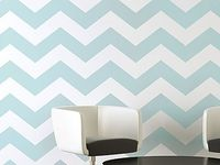 Who needs wallpaper when you can simply use a stencil? You can stencil an accent wall using these geometric and allover stencil patterns  and get a stunning look  for a fraction of the price of designer wallpaper! It's easier and faster than you might think, even beginners get great results. With stencils, DIY wall decor is easy!  http://www.cuttingedgestencils.com/wall-stencils-geometric-stencils.html