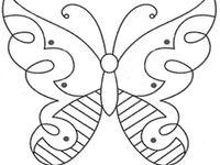 Papercraft Images4 butterflies