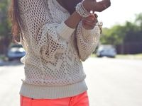 Clothing, accessories & styles I like.