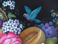 This is my hobby - decorative painting. I love it and appreciate all the talented teachers that I have had the privilege to take classes from. I always am inspired by the work of others and am thankful that they are willing to share their work. The pictures that I have pinned are the work of other artists and I am not representing them as mine.