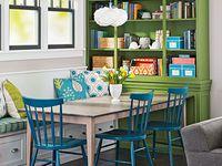 Ideas and inspiration for the dining area of Casa de Crap. http://www.kissmycasa.com