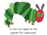 Theme:  The Very Hungry Caterpillar