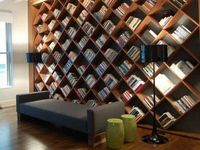 BOOKCASES styled correctly can make the whole room look amazing. Do you need help making this design element look great? Visit www.styleinasnap.com for #edecorating services and #InteriorDesign consultations. Soon your whole room will look amazing too!