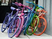so fond of bikes & aprons