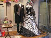 Halloween Wedding and Reception