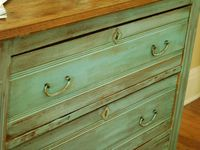 Painted Furniture and Finishes