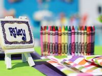 inspiration and ideas for my daughter's birthday party - now and in the future