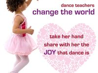 Our favorite quotes to share with dancers, dance teachers, and studio owners