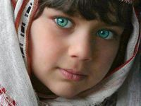 Beautiful eyes come in all colors, shapes and sizes.