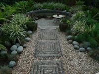 garden pebble mosaics