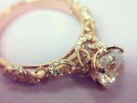 Engagement rings...a girl can dream