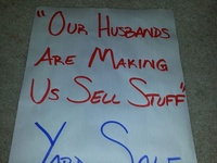 Great Yard Sale Signs