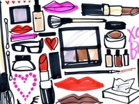 A place for beauty products, hair and makeup looks, nail polish...all the pretty things a girl needs!