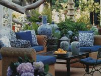 Yards, Patios, Porches, Any outdoor spaces
