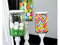 candy buffets/centerpieces